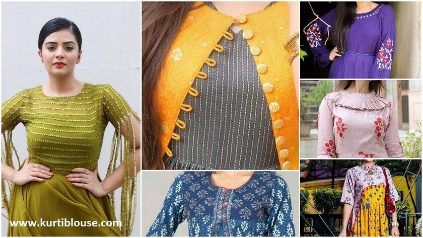 Designer Kurtis For Women In Fashion 2019 Kurti Blouse