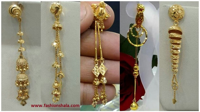 2240e6e4add56 Gold Earrings Designs With Weight And Price - Best All Earring ...