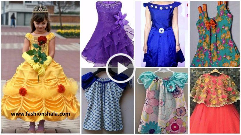a96a44bdc Latest Designer Baby Frock Cutting and Stitching Tutorials - Kurti ...