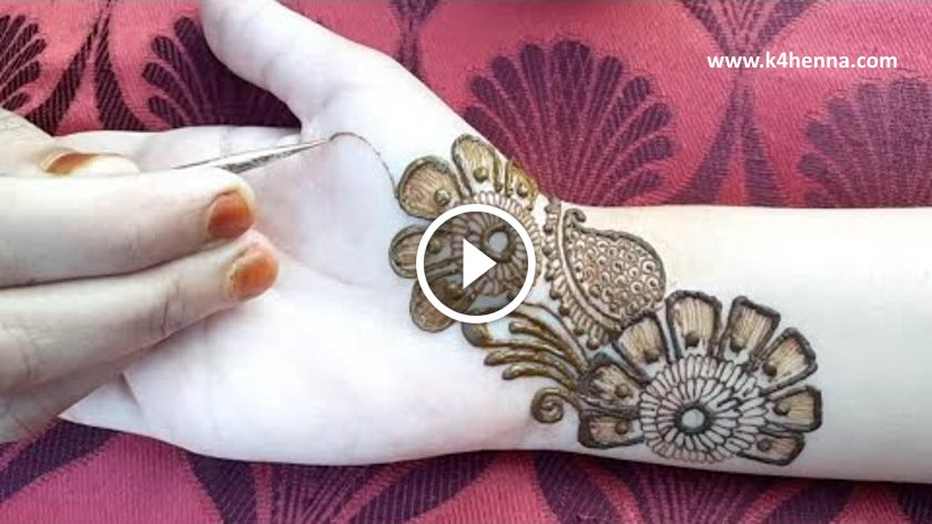 Easy Arabic Mehndi Designs For Front Hands Kurti Blouse