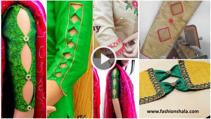 Latest and Designer Sleeve Designs cutting and stitching - Kurti Blouse 501c7195c5d