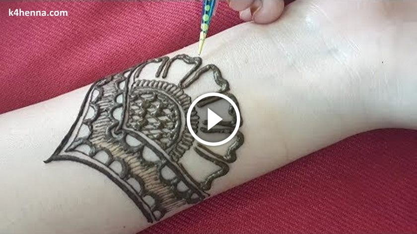 Easy Arabic Henna Mehndi Designs For Hand Kurti Blouse