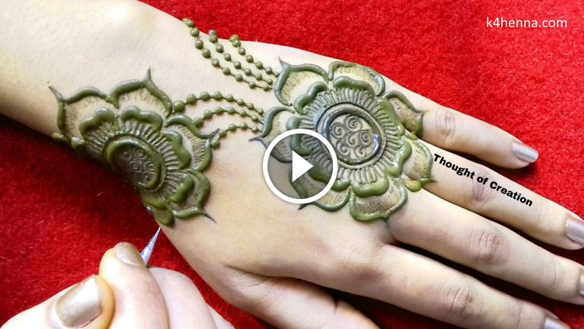 New Jewellery Mehndi Design For Hands Kurti Blouse