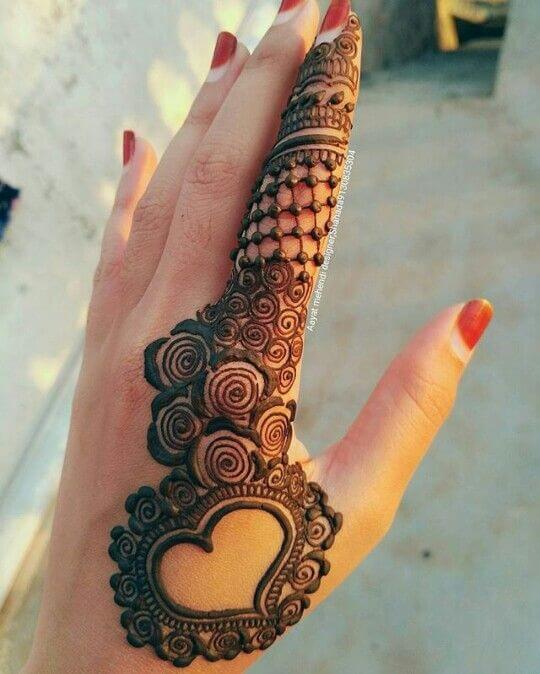 Simple And Beautiful Mehndi Designs Kurti Blouse
