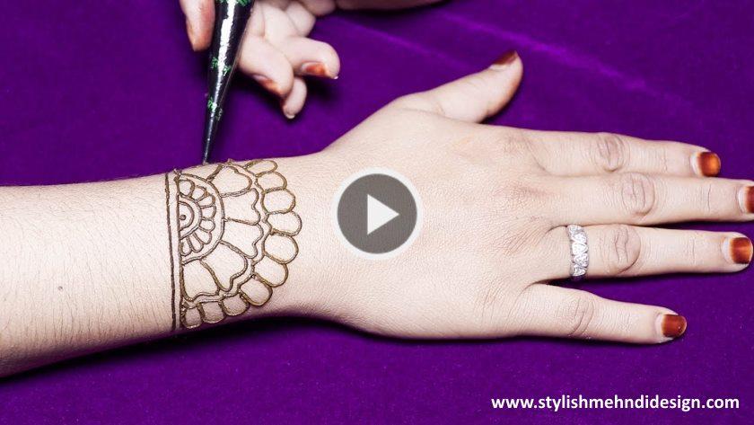 Simple \u0026 easy mehndi designs for hands , Kurti Blouse