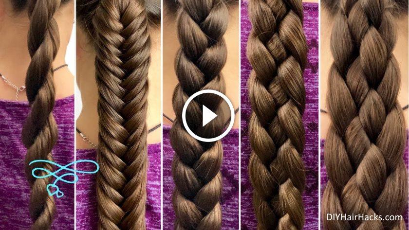 5 Cute Easy Braid Hairstyles For Beginners Kurti Blouse