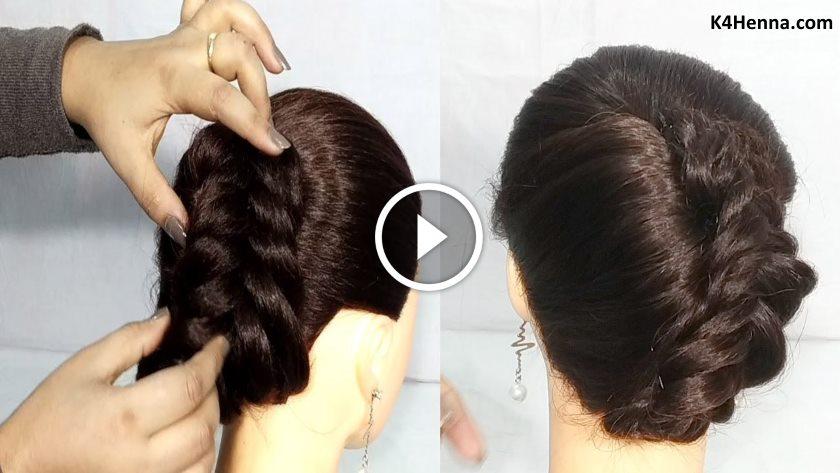 Easy Bun Hairstyles For Thin Hair Hairstyles